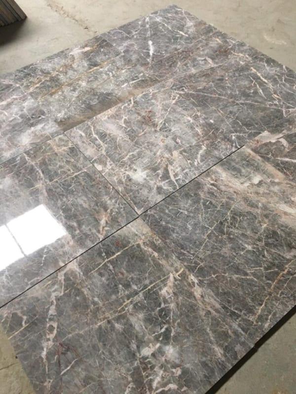 Đá marble ghi nâu Thanh Hóa 60x60