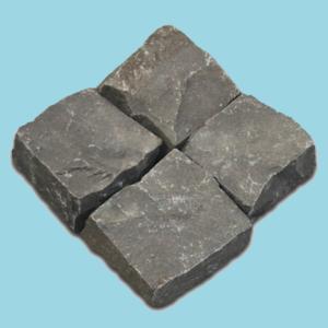 Đá cubic 20x20x10cm bazan chẻ tay