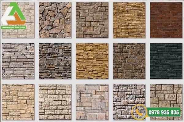 Mẫu đá ốp tường tự nhiên Thanh Hóa