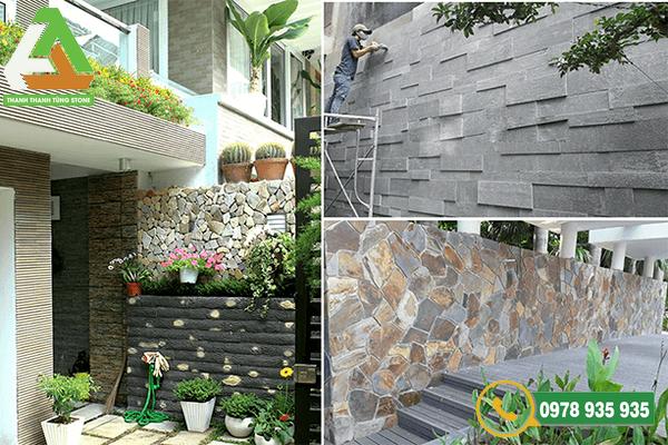 Sản phẩm đá ốp tường tự nhiên mang giá trị thẩm mỹ cao