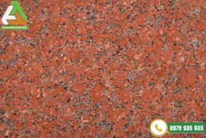 Đá granite đỏ Bình Định được sử dụng nhiều trong nội, ngoại thất gia đình
