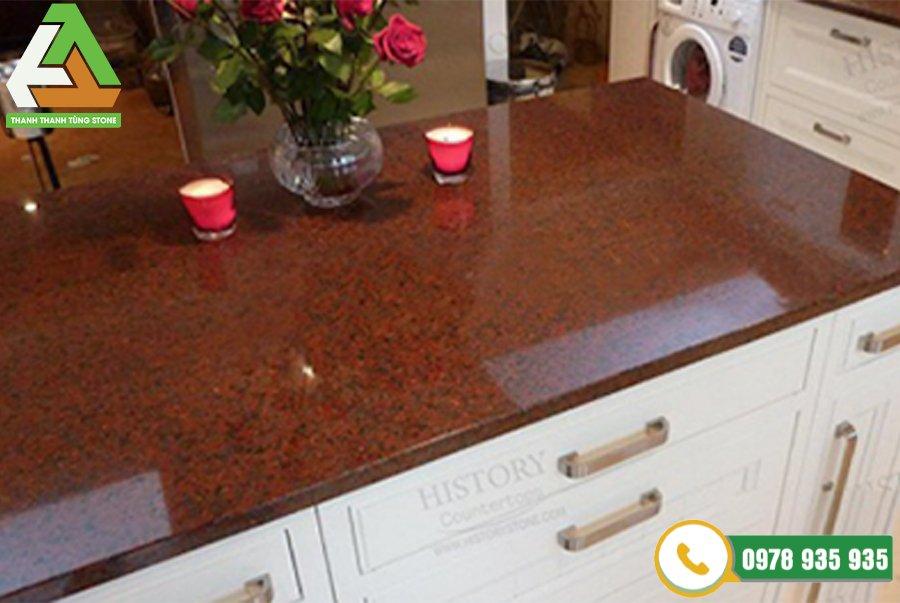 Đá granite đỏ Bình Định đẹp