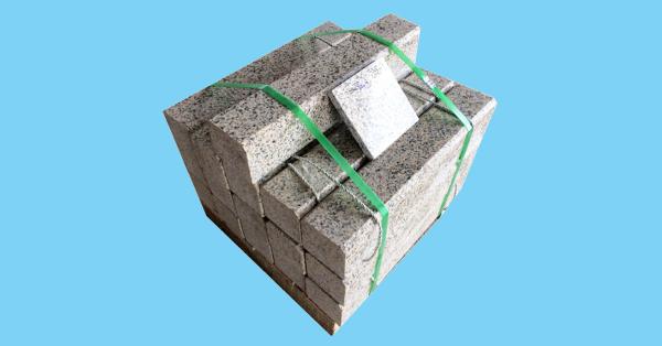 Bó vỉa granite vàng nhạt Bình Định