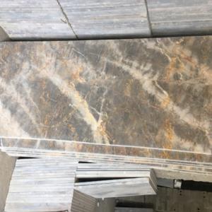Đá cầu thang marble vàng dăm kết Thanh Hóa