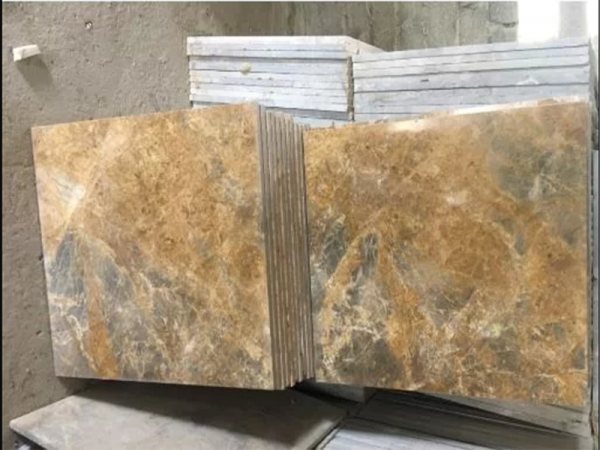 Đá marble vàng dăm kết Thanh Hóa 60x60