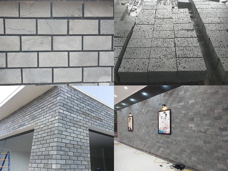 Đá ốp tường xám đen NBStone 24
