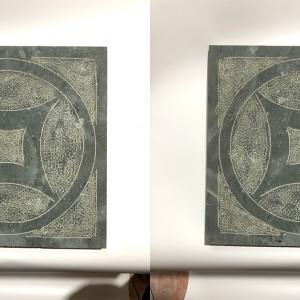 Đá xanh rêu băm đồng tiền