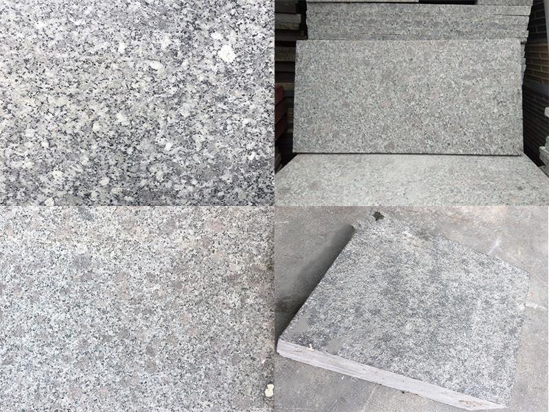 Đá granite tím hoa cà khò mặt 600mmx300mmx50mm