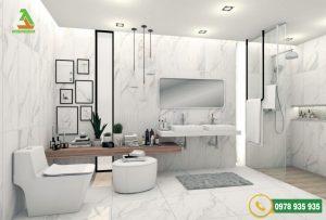Mẫu đá ốp tường nhà tắm