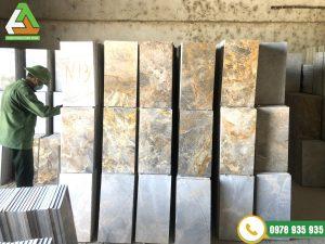 dự án thi công đá ốp lát, bó vỉa chung cư Tân Hoàng Minh