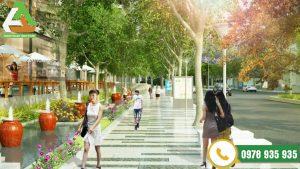 dự án thi công đá ốp lát an bình city