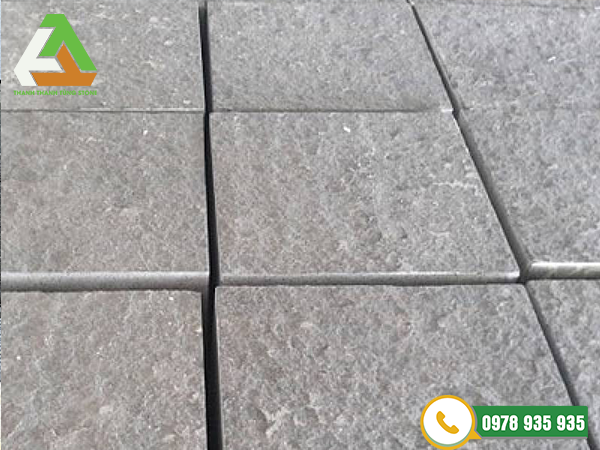 Mẫu đá khò lửa tạo nhám granite chắc chắn