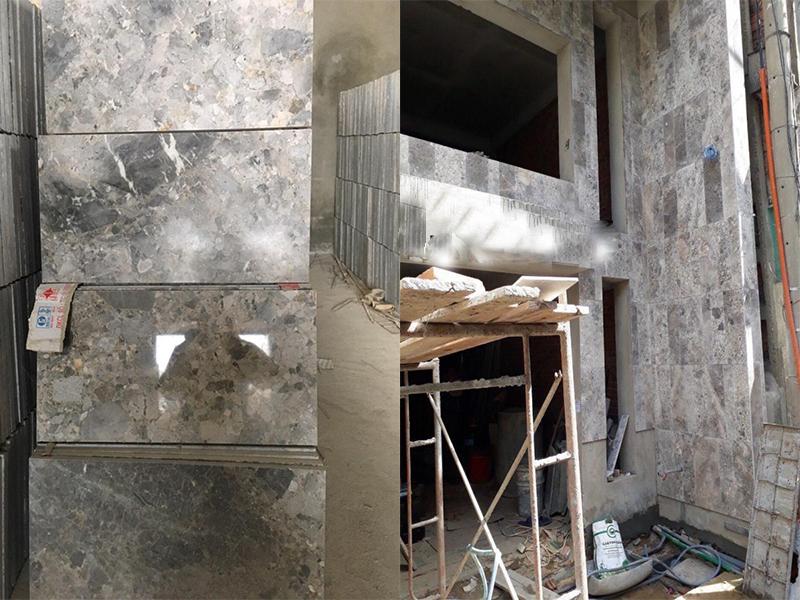 Đá marble trắng xám Thanh Hóa 60x60