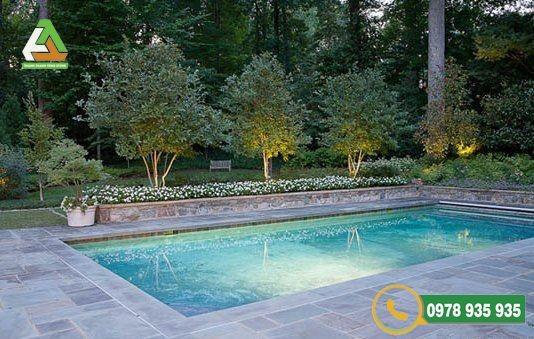 Đá ốp lát bể bơi xanh Thanh Hóa vẻ đẹp thời đại