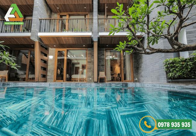 Mẫu đá ốp lát bể bơi bền đẹp, chất lượng tại Thanh Tùng Stone