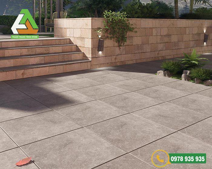 Mẫu đá lát sân vườn granite bền, đẹp