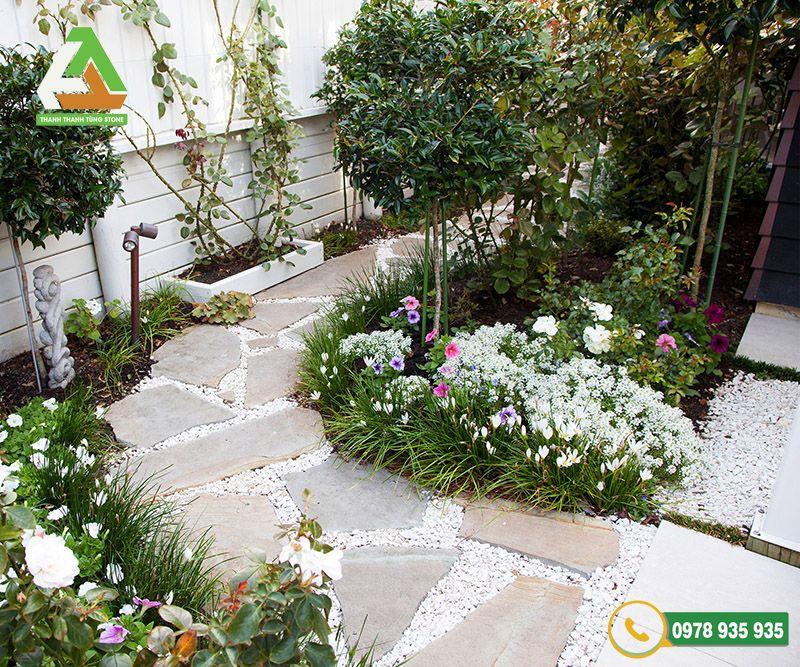 Đá lát sân vườn tự nhiên thân thiện với môi trường