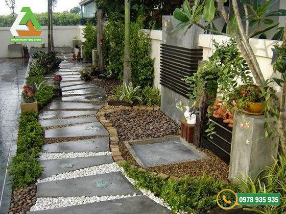 Độ bám của đá lát sân vườn rất quan trọng vì nó liên quan đến vấn đề an toàn