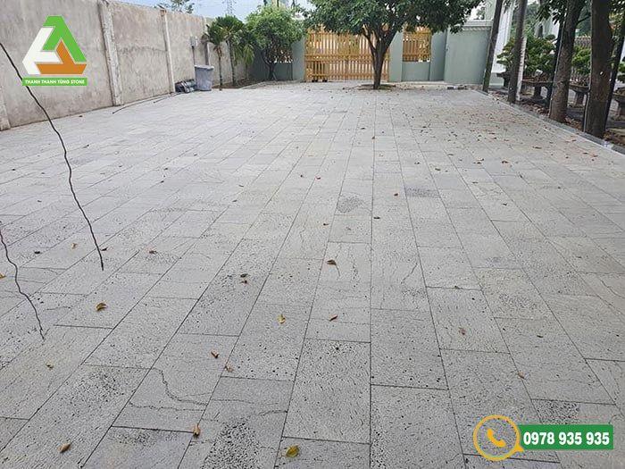 Mẫu đá lát sân vườn Thanh Hóa tự nhiên