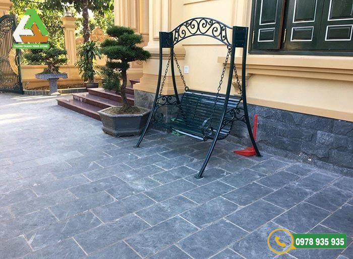 Quy trình thi công đá lát sân vườn Thanh Hóa