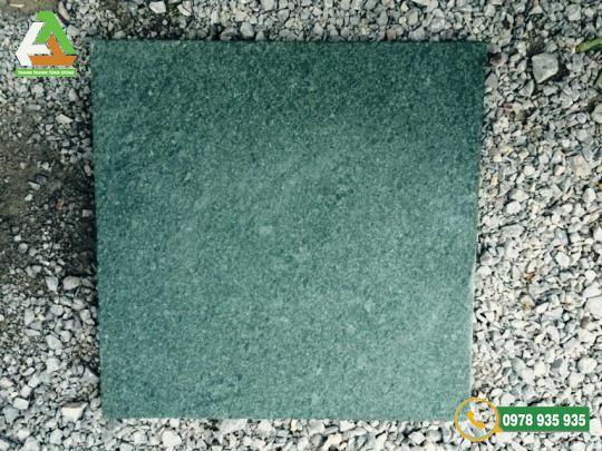 Mẫu đá xanh Thanh Hóa băm mặt với độ cứng cao