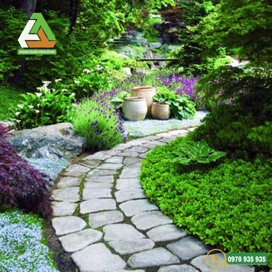 Đá lát sân vườn trở thành một xu hướng trong thiết kế cảnh quan