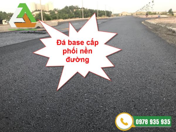 Đá base dùng để lát nền đường