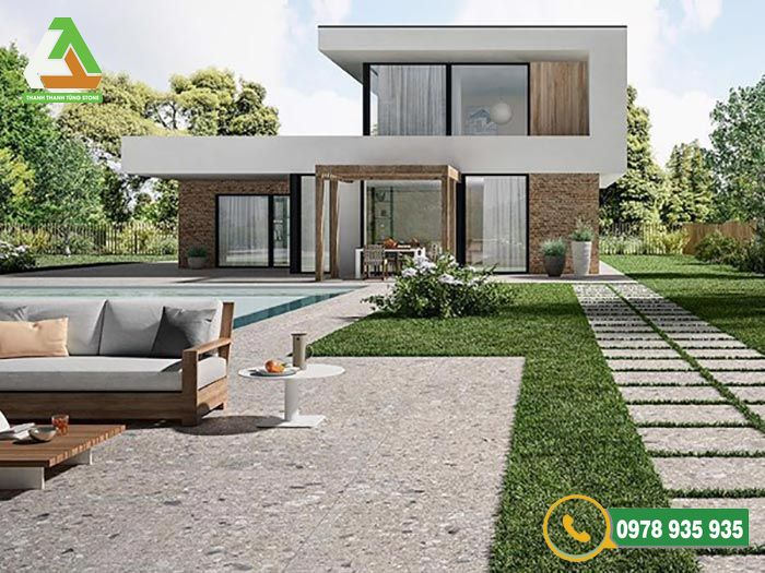 Đơn vị thiết kế và thi công đá lát sân vườn chuyên nghiệp