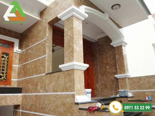 Đá granite ốp lát vừa mang giá trị thẩm mỹ vừa mang lại đồ bền cho công trình