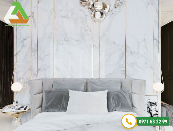 Đá marble ốp tường với vẻ đẹp huyền bí