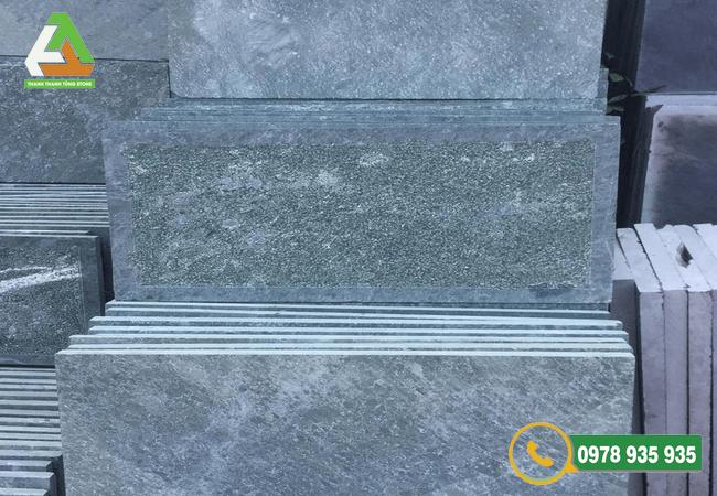 Mẫu đá lát sân vườn xanh rêu Thanh Hóa