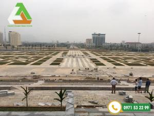 Dự án đá ốp lát công trình quảng trường Trung tâm tỉnh Hòa Bình