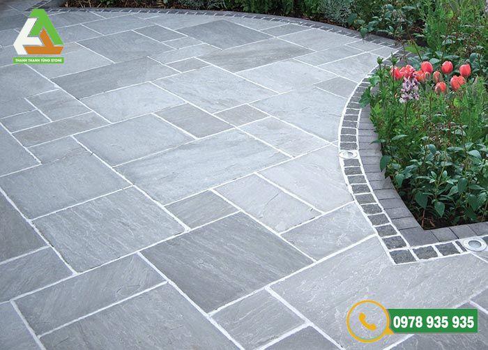 Kỹ thuật thi công đá lát sân vườn nhà ở