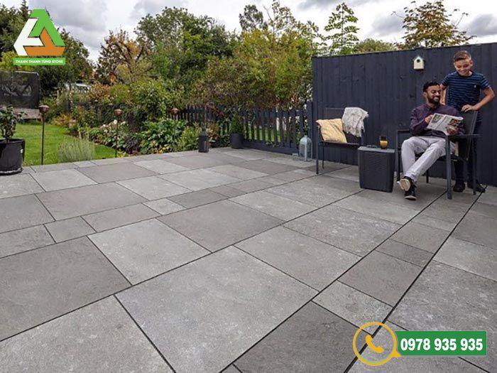 Mẫu đá Slate lát sân vườn độc đáo