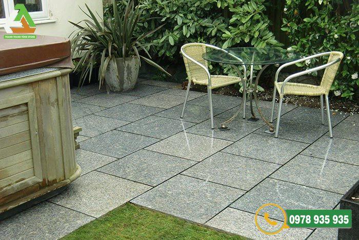 Đá lát sân vườn granite tự nhiên