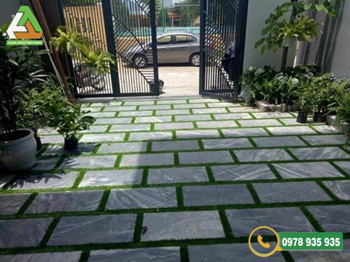Báo giá đá lát sân vườn Thanh Hóa bền đẹp