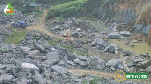 Đá xanh tự nhiên Thanh Hóa được khai thác chủ yếu ở các mỏ phía Bắc của Thanh Hóa