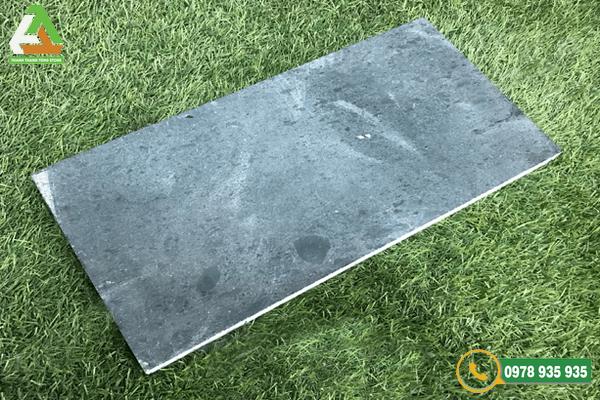 Mẫu đá xanh rêu mài thô bền đẹp