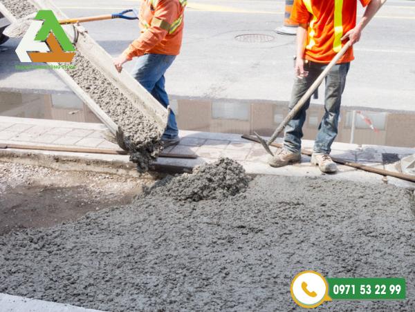 Đá xây dựng trộn bê tông
