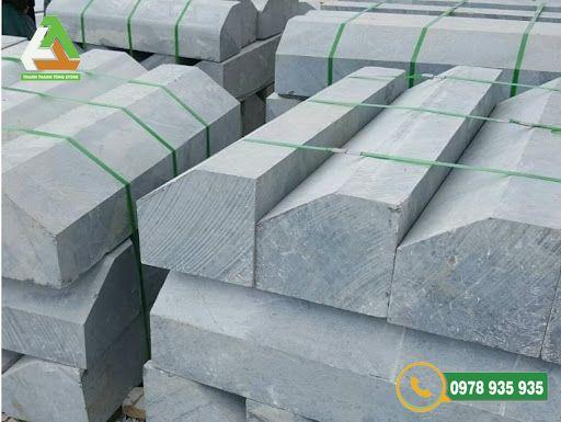 Mẫu đá bó vỉa hè Thanh Hóa vát cạnh